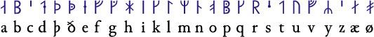 Medieval runes
