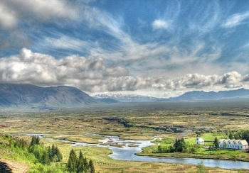 Thingvellir in Iceland
