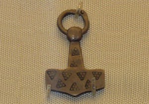 Norse symbol Thor's hammer