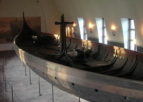 Viking ship from Gokstad