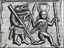 Torslunda weapon dancer