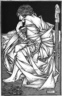 Viking god Freyr